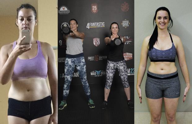 Workout Buddies lost weight