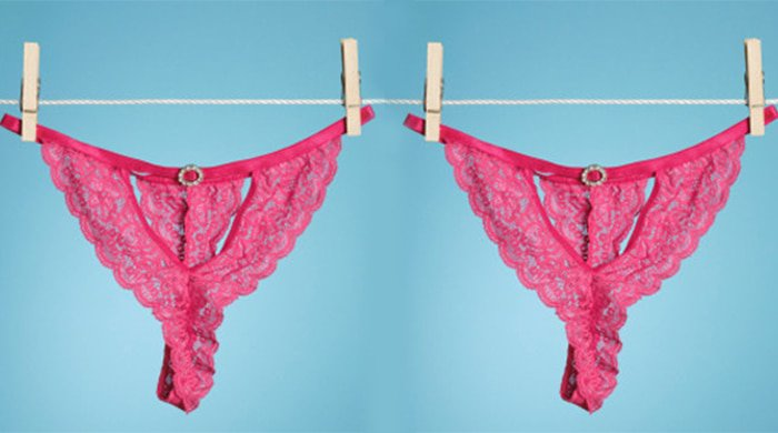 hanging panties to illustration vaginal infections
