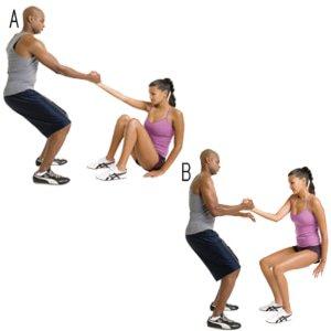 Pull-up-squat