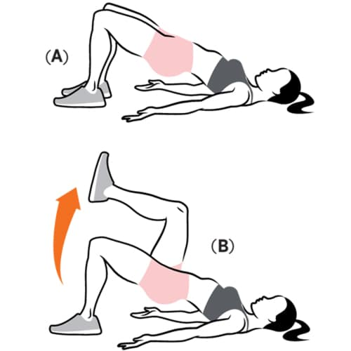 Marching-glute