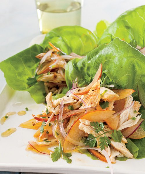 lettuce-cups-with-peach