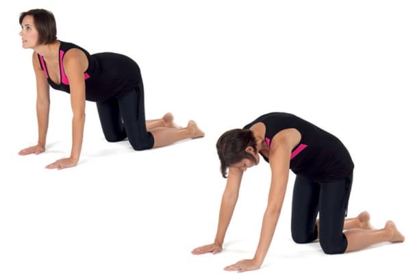 4 Fitmama Yoga Moves To Do At Home!