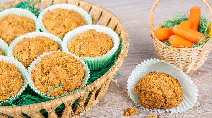 Carrot-Ginger Bran Muffins