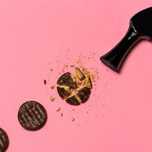 portion sizes — hammer smashing biscuits into smaller portion sizes