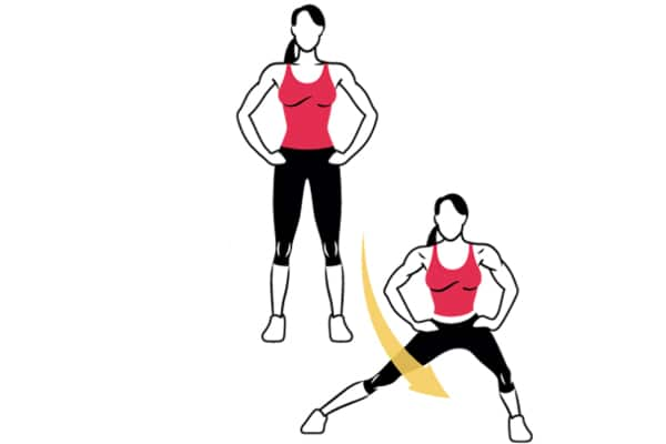 Alternating-later-lunge