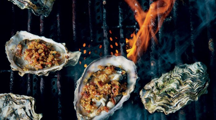 Braai oysters