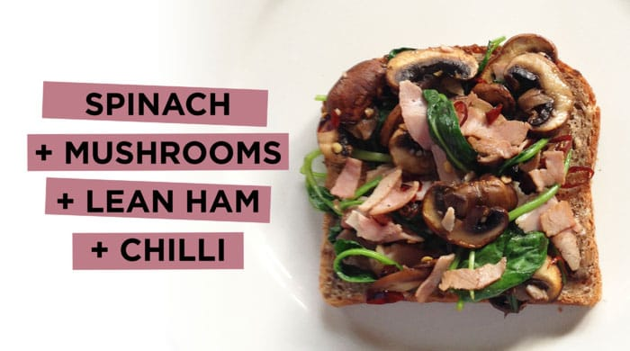 spinach-mushroom
