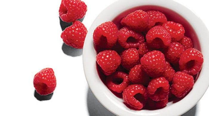 raspberries are part of the blood-type diet