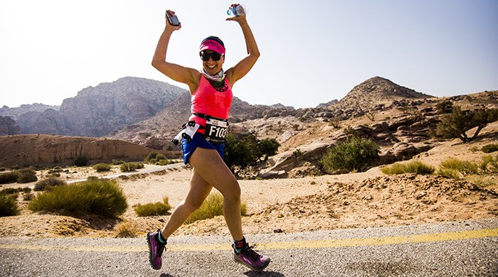 The Petra marathon is one of the world's top destination races