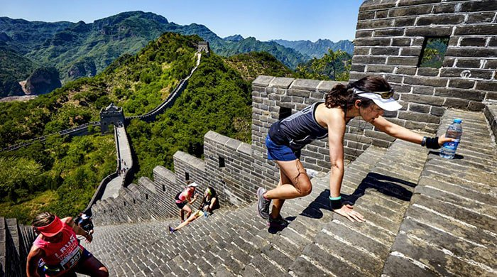 Great Wall Marathon is one of the world's top destination races