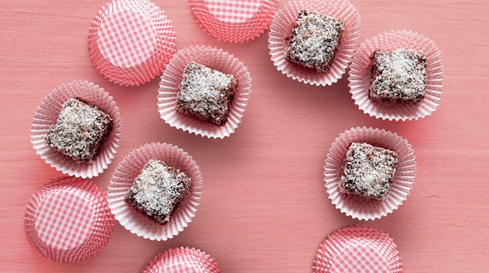 Try these delicious chocolate recipes like these low-carb lamingtons