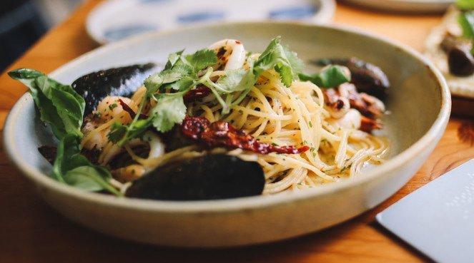 Delicious looking pasta dish