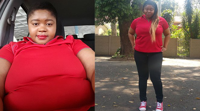 Thuli ditched the binge-eating and lost weight