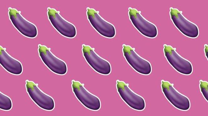 Egg plant sext emoji