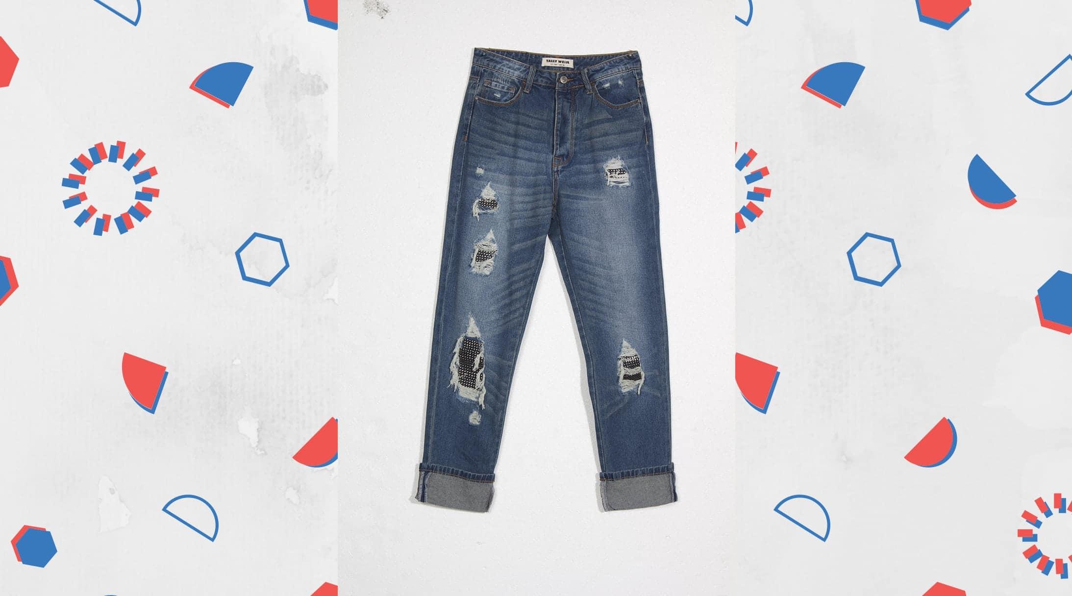 Tally Boyfriend jeans