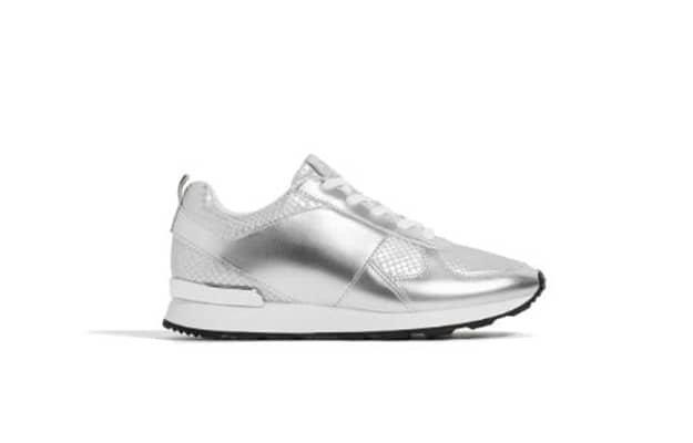 Silver sneaker R759, Zara