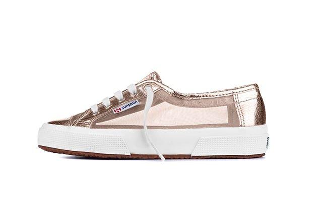 Rose gold sneaker, R1099, Superga