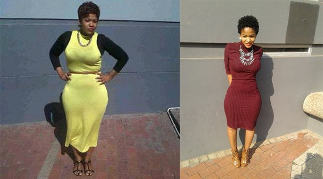 Xolile used self-belief to motivate her weight-loss transformation