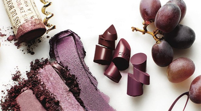 crushed grape beauty products