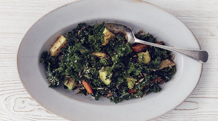 Kale salad for your weekend braai