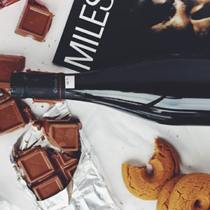 late night snacks like wine, chocolate and biscuits is bad for you