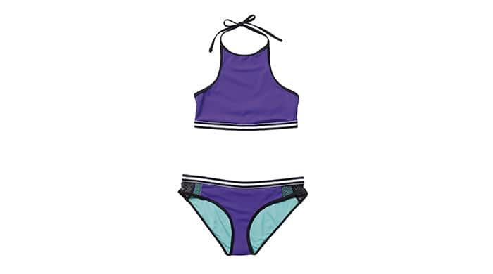 Topshop racerfront bikini