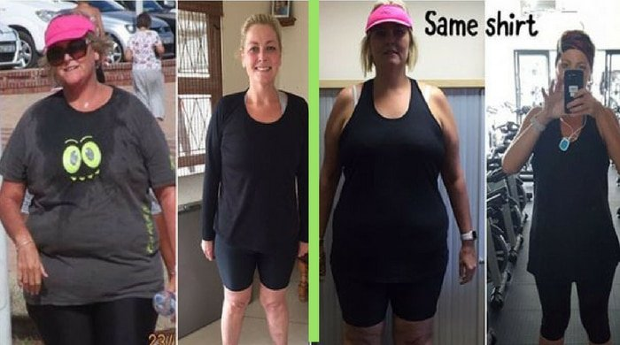 This woman was a binge eater before she lost 44 kilos