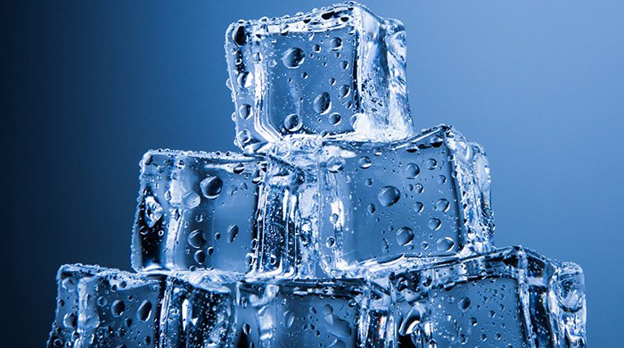 Freezing ice blocks are even warmer than cryotherapy