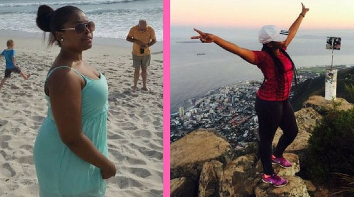 Lungile's weight-loss running journey