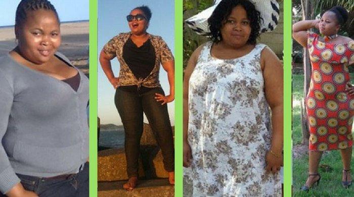 Nokukhanya lost weight using this method