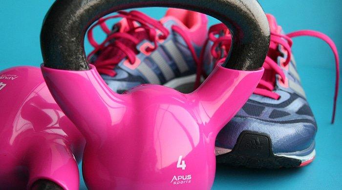 A kettlebell workout burns more kilojoules than a spin class