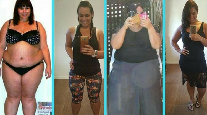 Leandie made diet changes which lead to her weight-loss