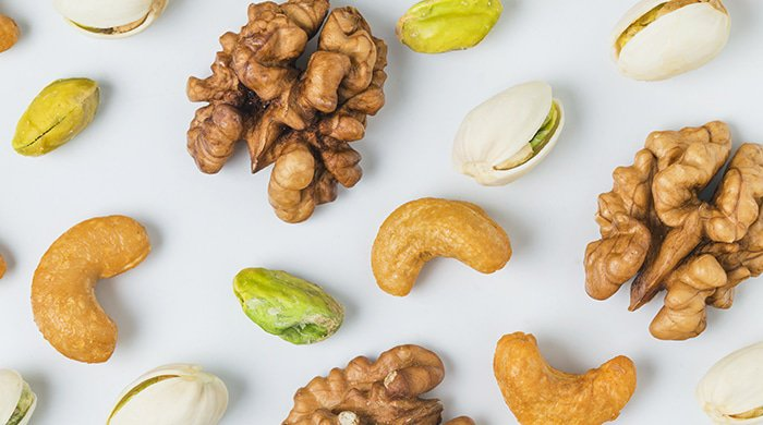 nuts are mood-boosting foods