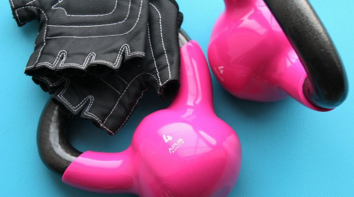 kettlebells are weights that you would use if you were pregnant and trying to lose weight