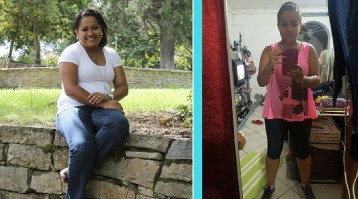 chade mager dropped major kilos and this is her weight-loss story