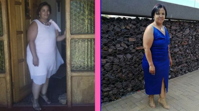 Laurika's stroke weight loss journey