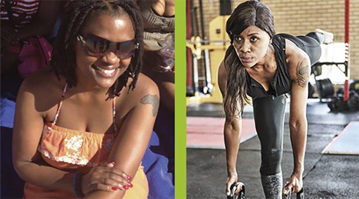 Matshediso Modipane losing 25kgs