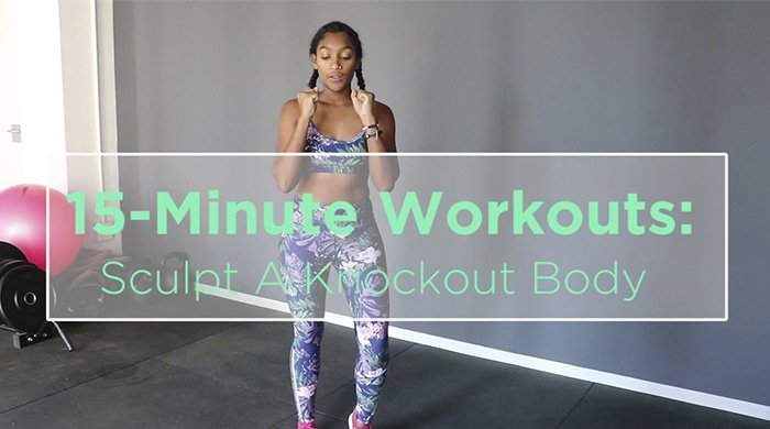 A 15 minute workout for sculpting your entire body