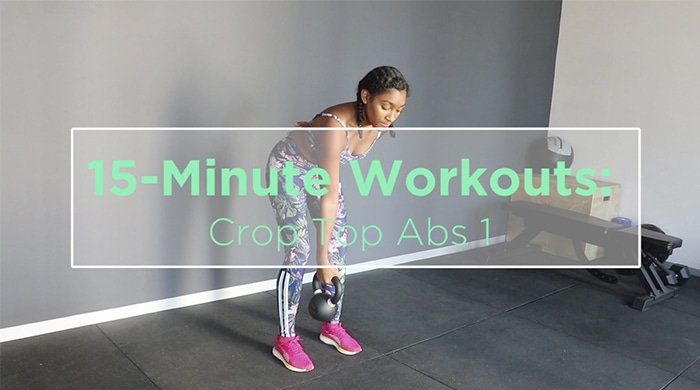 15-minute workout to help you sculpt sexy abs