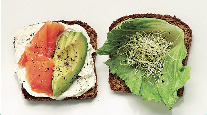 This avo and salmon toast is just one of the many power breakfast recipes