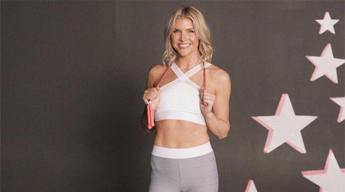 amanda kloots' jump rope workout