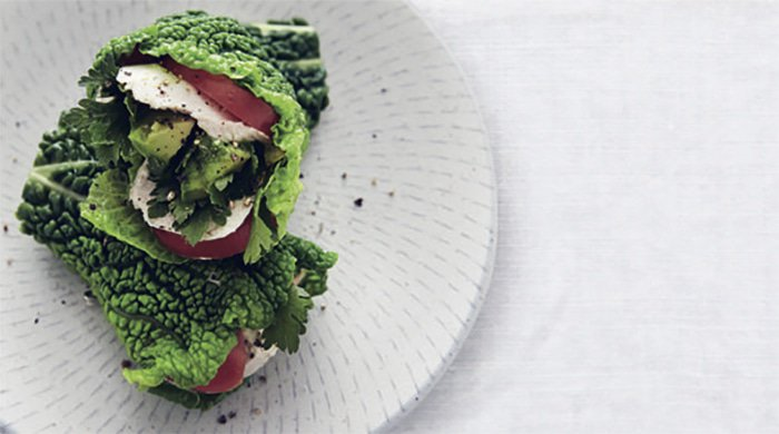 kale wraps make great healthy desk lunches
