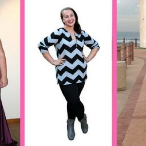 This women lost over 14 kilos with the help pf a weight-loss book