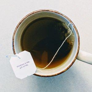 bedtime teas in a tea mug