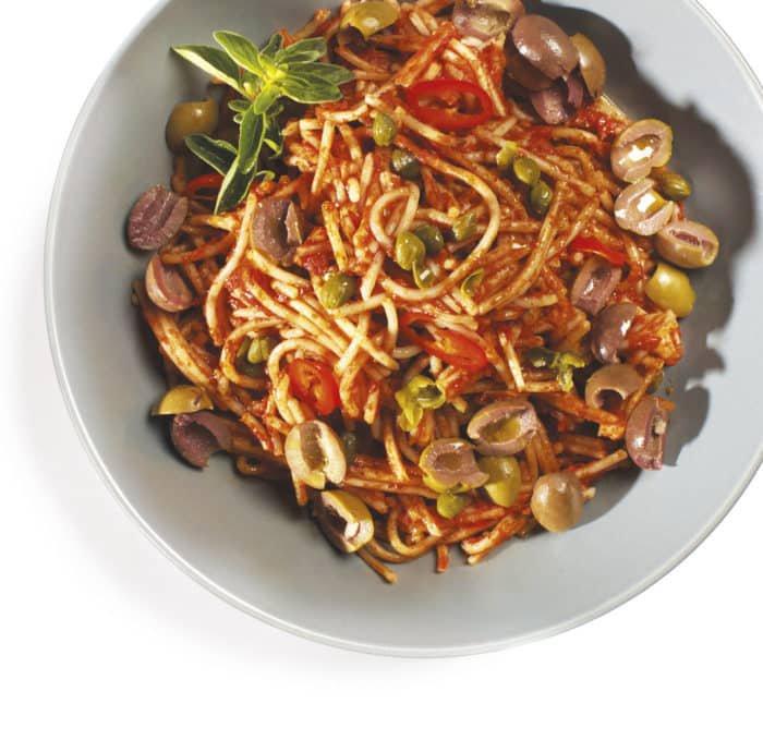puttanesca pasta dishes