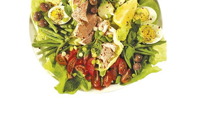 salmon salade niçoise