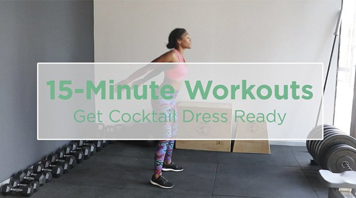 Get Cocktail Dress Ready With This 15-Minute Workout