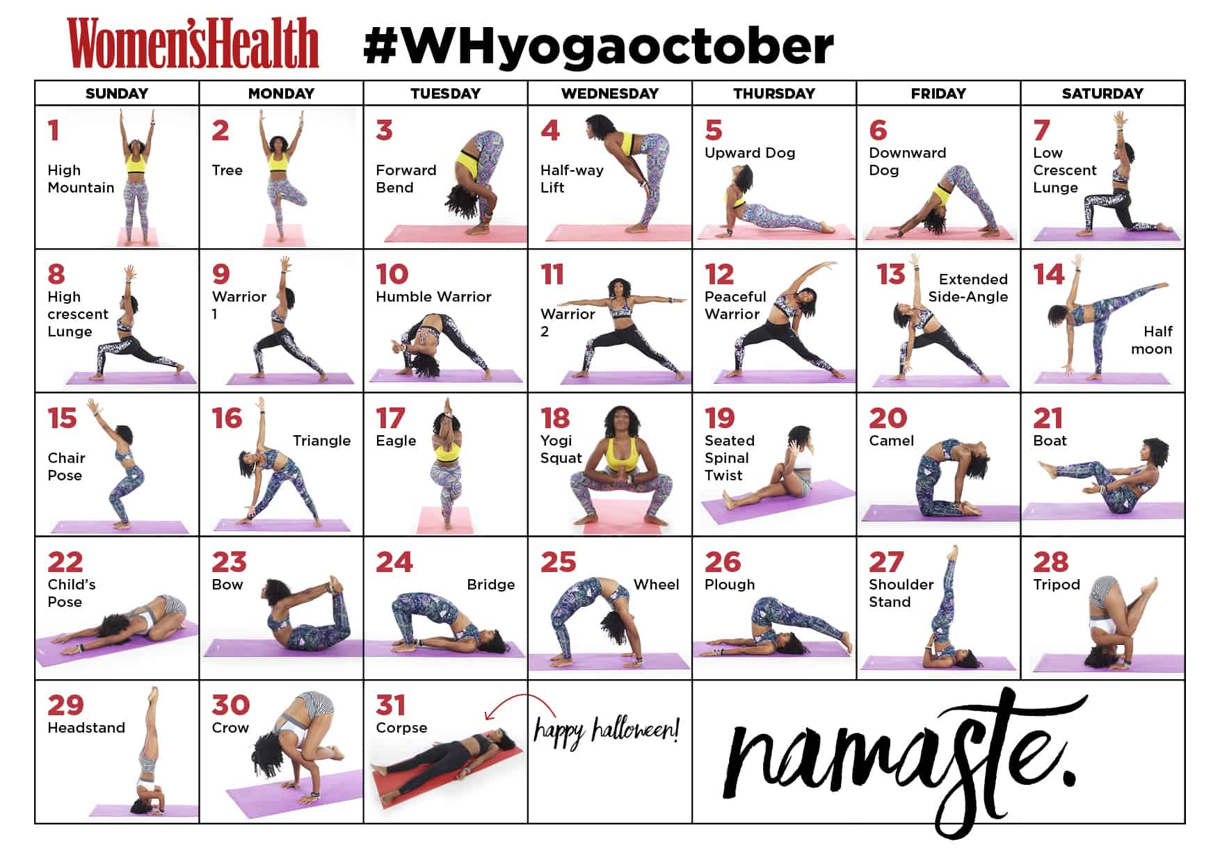 month-yogaoctober