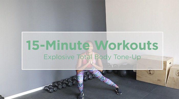 Explosive Tone-Up Workout