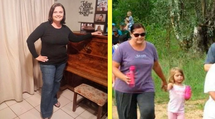 Leanne's weight-loss story about how she dropped dress sizes